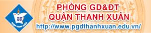 Phòng GD&ĐT Q Thanh Xuân