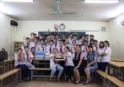 Bài viết của HS Nguyễn Hà Anh (8T): CÔ GIÁO CHỦ NHIỆM CỦA TÔI