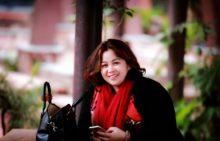 Chị Nguyễn Thị Hạnh – Phụ huynh HS Nguyễn Phúc Lâm – lớp 9A (Chuyên viên phòng  Khoa học – Đào tạo, Viện sốt rét – Ký sinh trùng – Côn trùng Trung ương)