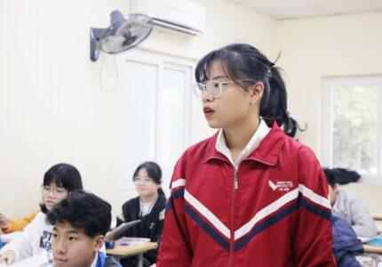 Bài viết HS Đỗ Khánh Chi (8A): NHỮNG NGÀY ĐẦU TIÊN HỌC TẬP TẠI MÁI TRƯỜNG THCS ĐÀO DUY TỪ